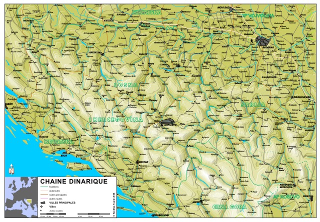 Euratlas-Info Member's Area: The Dinaric Alps after Yugoslavia
