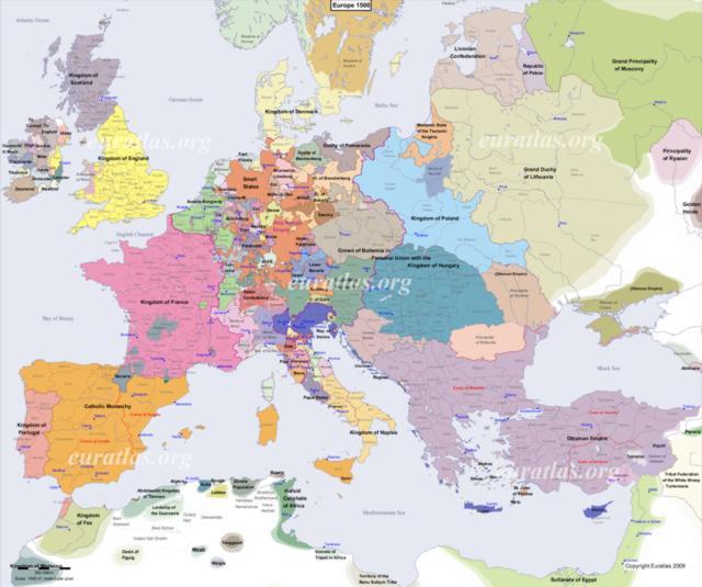 Cliquez ici pour télécharger L'Europe en l'an 1500, EN