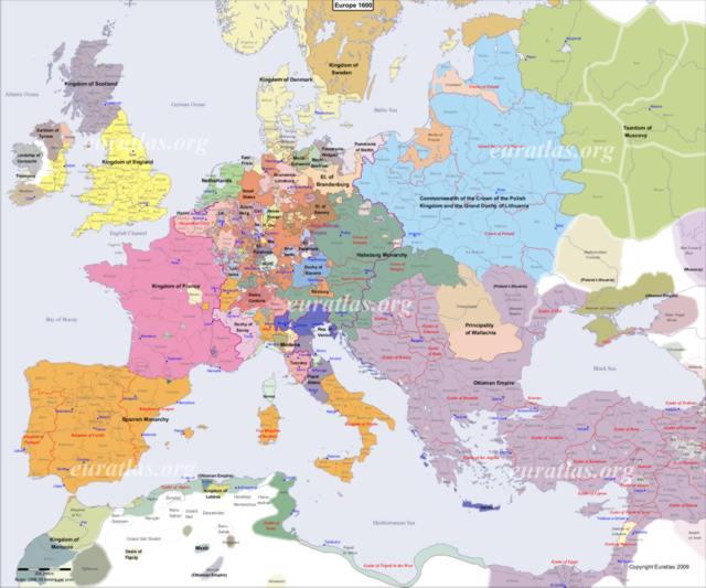 Cliquez ici pour télécharger L'Europe en l'an 1600, EN