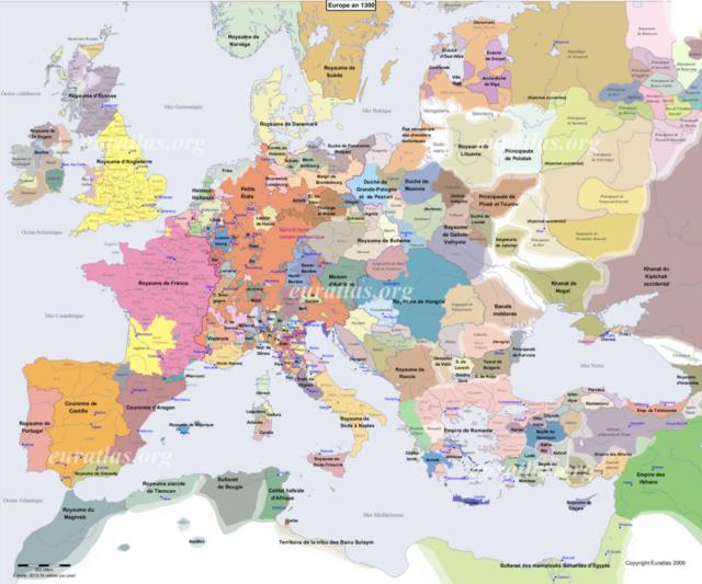 Cliquez ici pour télécharger L'Europe en l'an 1300, FR