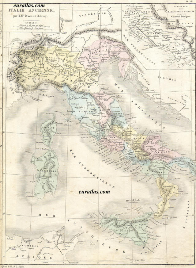 Click to download the Ancient Italy, 5th Century BC