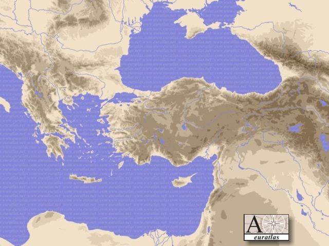 Click to download the Eastern Mediterranean Desktop Wallpaper Color
