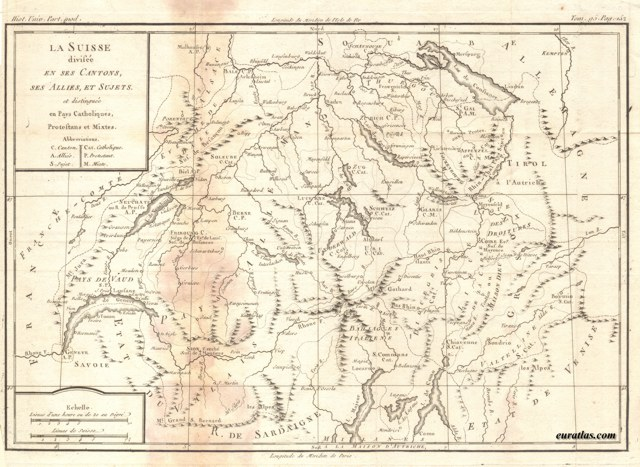 Click to download the Switzerland Cantons, Allies and Subjects 1770