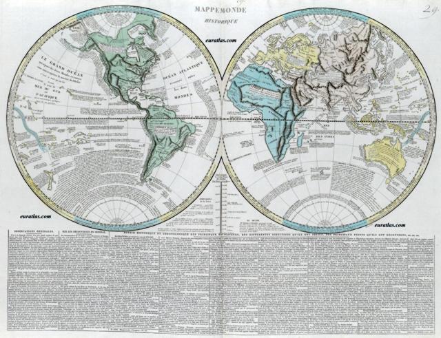 Cliquez ici pour télécharger Mappemonde 1808