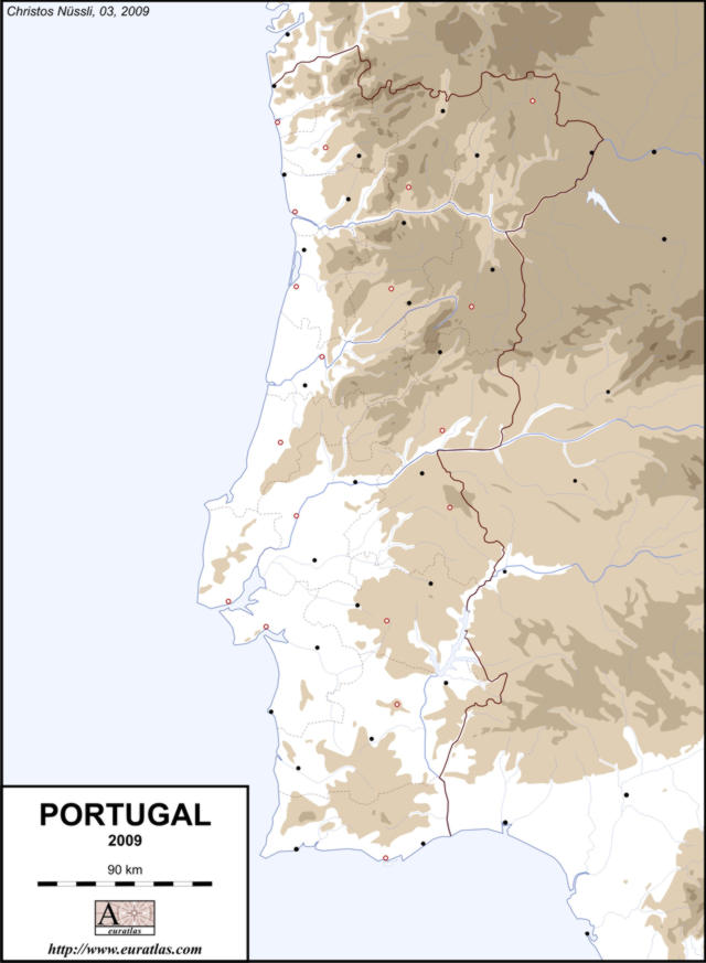 Click to download the Portugal 2009, Blank, Color