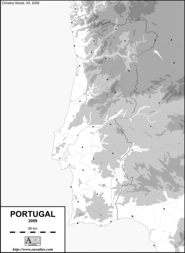 Click to download the Portugal 2009, Blank, Grey